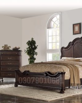 Code: BS 1006 | Wooden Bed