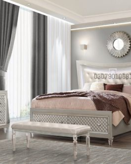 Code: BS 1008 | Wooden Bed | Poshish