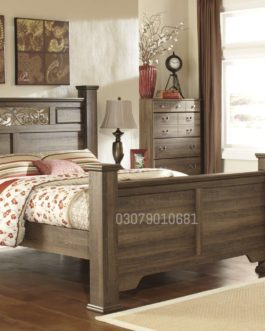 Code: BS 1014 | Wooden Bed